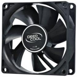 Deepcool XFAN 80 черный лак, 80x80x25мм, HB 1800 об/мин, 20дБ 4pin