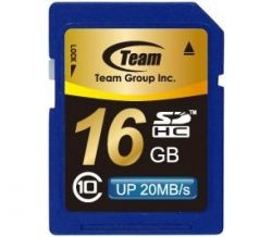 Team SDHC 16 Gb SD Сlass10