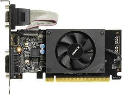 Видеокарта Gigabyte PCI-Ex GeForce GT 710 2048MB DDR3 (64bit) (954/1800) (HDMI, DVI, VGA) (GV-N710D3-2GL)