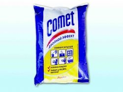 Чистячий засіб універсальний 400 г (Лимон) (пакет) ТМ COMET