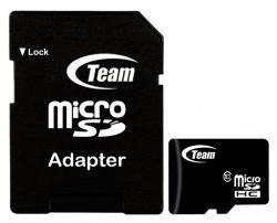 Карта памяти Team Class10 4Gb SD адаптер TUSDH4GCL1003