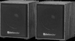 Акустическая система DEFENDER 2.0 SPK 230 USB (65223) черный