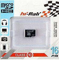 Hi-Rali microSDHC 16Gb Class10 без адаптера