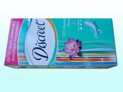 Прокладки щоденні 20 шт (Deo Water Lily Single) ТМ DISCREET