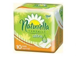 Прокладки гігієнічні 10 шт 4кр. (Ultra Camomile Normal Single) ТМ NATURELLA