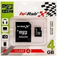 Hi-Rali microSDHC 4Gb Class 4 SD адаптер