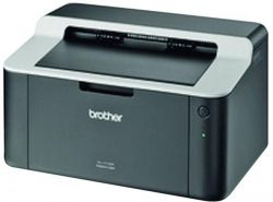 Принтер лазерный ч/б A4 Brother HL-1112R, Black/Grey, 600x2400 dpi, до 20 страниц, USB (картридж TN-1075)