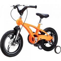 Детский велосипед Miqilong YD Оранжевый 16` MQL-YD16-Orange
