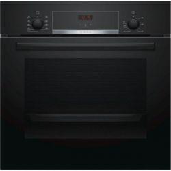 Встраиваемый электрический духовой шкаф Bosch HBF514BB0R - Ш-60 см./8 реж/66 л./дисплей/черный