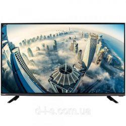 "Телевизор 24"" Bravis LED-24E6000, 1920x1080 60Hz, DVB-T2, VGA, HDMI, USB, VESA (100x100)"