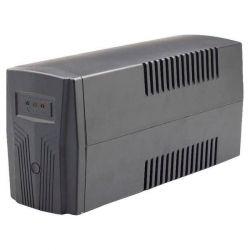 ИБП Maxxter MX-UPS-B650-02 Black, 650VA, 390 Вт, линейно-интерактивный, 2 розетки, батарея 12 V / 7Ah