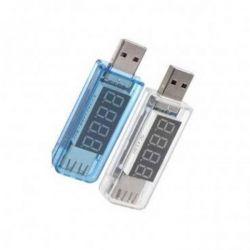 USB тестер Charger Doctor напряжения (3-7.5V) и тока (0-2.5A) White