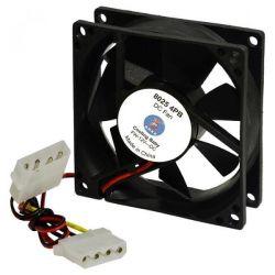 Вентилятор 80 mm Cooling Baby 80x80x25мм BB 12В 0,30А 24,3дБ, 2500 об/мин 4pin MOLEX