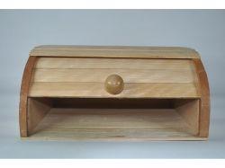 Хлібниця дерев яна Середня на рейках ТМ ЧЕРНІВЦІ