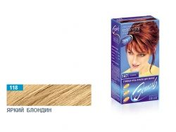 Стійка гельфарба для волосся (118 яскравийблондин) ТМ ЭСТЕЛЬ