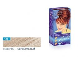 Стійка гельфарба для волосся (128 полярносріблястий) ТМ ЭСТЕЛЬ