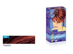 Стійка гельфарба для волосся (147 тіциан) ТМ ЭСТЕЛЬ