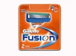 Картридж 2шт.в уп. Fusion ТМ GILLETTE