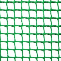 СЕТКА ПЛАСТИКОВАЯ - тем-зел.КЛЕВЕР,забор,50х50мм,рул.1х20м (УКРПРОМ)