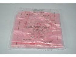 Пакет 5 мкр Майка Plastic Bag 220х360 100 шт ТМ ПОЛІПАК
