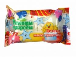 Мило 200 г у кольор.упаковці (Дитяче) ТМ РЕЦЕПТЫ ПРИРОДЫ