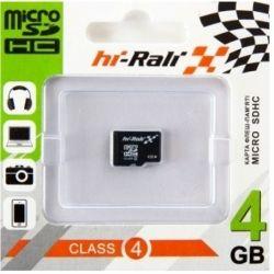 Hi-Rali microSDHC 4Gb Class4 без адаптера
