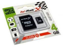 Hi-Rali microSDHC 4Gb Class10 SD адаптер