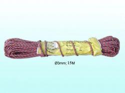 Мотузка білизняна В20 (15м, d=3мм) ТМ ХАРЬКОВ