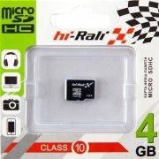 Hi-Rali microSDHC 4Gb Class10 без адаптера