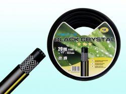Шланг для поливу Black Crystal1/2 (20м) бухта ТМ FITT