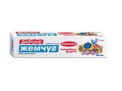 Зубна паста 50 мл (для дітей) Комплекс Чарівні фрукти ТМ НОВЫЙ ЖЕМЧУГ