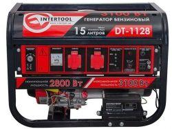 Бензиновый генератор  Intertool DT-1128