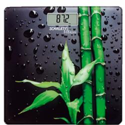 Весы напольные электронные Scarlett SC-BS33E051 (бамбук)