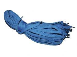 Шнурки для взуття Електрик (сині) 1м (10пар) ТМ УКРАЇНА