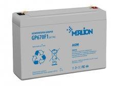 Батарея к ИБП Merlion 6В, 7Ач, GP670F1