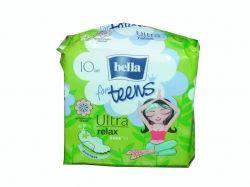 Прокладки гігієнічні 10 шт.4 к.(Ultra Relax extra soft Deo green tea) ТМ BELLA