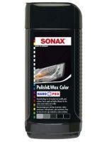 Полироль с воском цветной для кузова Sonax NanoPro 296141