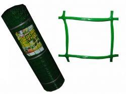 Садова пластм.сітка 85х95 h1 м,l20 м,арт.З85/1/20 темнозелений ТМ КЛЕВЕР