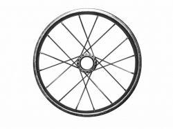 Колесо на велосипед заднє хром d12 ТМ ХАРЬКОВ - Картинка 1