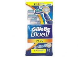 Однор. станок для гоління Blue ІІ Plus (82шт) ТМ GILLETTE