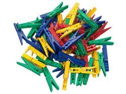 Прищіпки 20шт (72мм) пластмасові посилені 3112 ТМ MTM