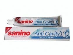 Зубна паста 100 мл (Захист від карієсу) ТМ SANINO