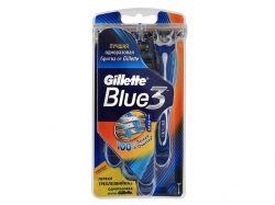 Однор. станок для гоління Blue ІІІ (3шт) ТМ GILLETTE