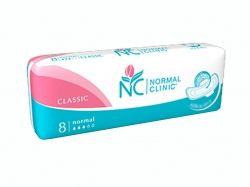 Прокладки гігієнічні 8 шт3 кр. (Classic cottonsoft) ТМ NORMAL CLINIQUE