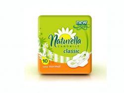 Прокладки гігієнічні 10 шт 4кр. (Classic Camomile Normal) ТМ NATURELLA