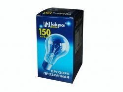 Лампа в індив. упаковці ЛОН Е27 150Вт ТМ ИСКРА