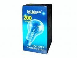 Лампа в індив. упаковці ЛОН Е27 200Вт ТМ ИСКРА