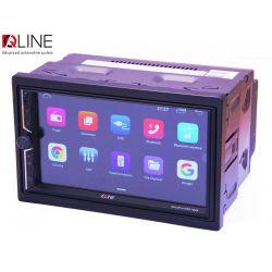 Автомагнитола Мультимедиа 2-DIN Qline DinoPro DSP 7020  Android 10 2/32 - Картинка 1