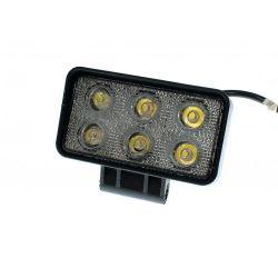 Светодиодная фара AllLight 09T-18W 6chip OSRAM 3535