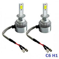 Лампы светодиодные C6 H1 12-24V COB (2шт)